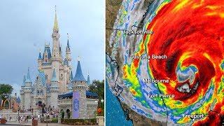 Disney World  & Florida In Hurricane Dorian - The Experience
