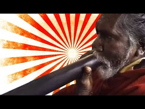 Didgeridoo lessons, tutorial, workshop | Djalu Gurruwiwi | Germany 2002