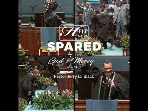 Rev. Jerry D. Black - (Preaching into a Praise Break)