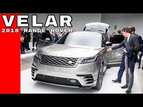 2018 Range Rover Velar At Milan