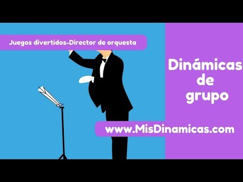 ▶️Juego divertido Director de orquesta #risoterapia #dinamicas #teambuilding