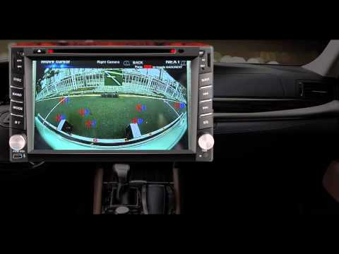 3D 360° Surround View Monitoring System Calibration Video From NEXADAS 2016