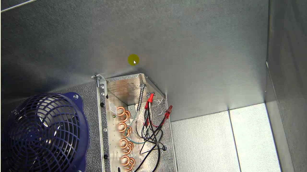 Freezer Defrost Heater Facias 482493 Timer Wiring Diagram Electrical For A Walk In Youtube