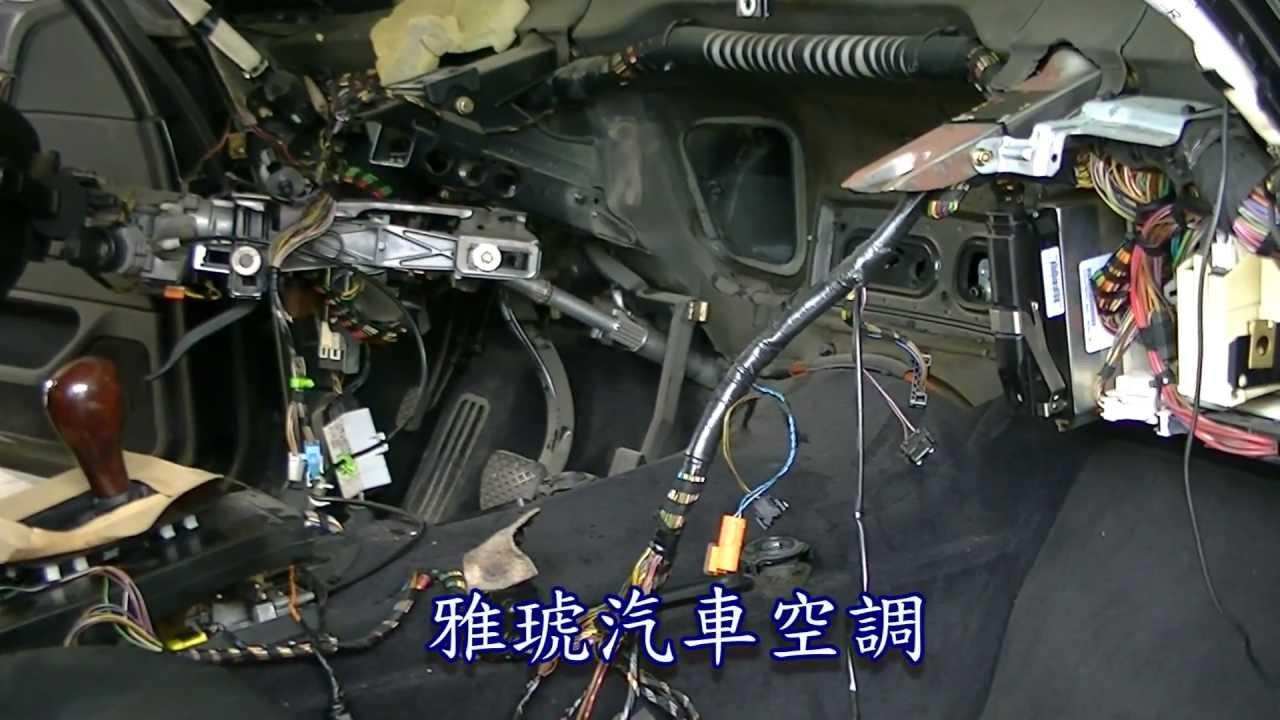 evaporator core replacement bmw e38 728 u84b8 u767c u5668 u66f4 u63db u5168 u7d00 u9304 hd  youtube e38 ecu wiring diagram e38 amp wiring diagram