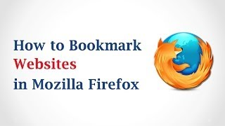 How to Bookmark a Page in Mozilla Firefox