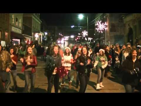 West Newton Christmas Flash Mob Christmas 2013