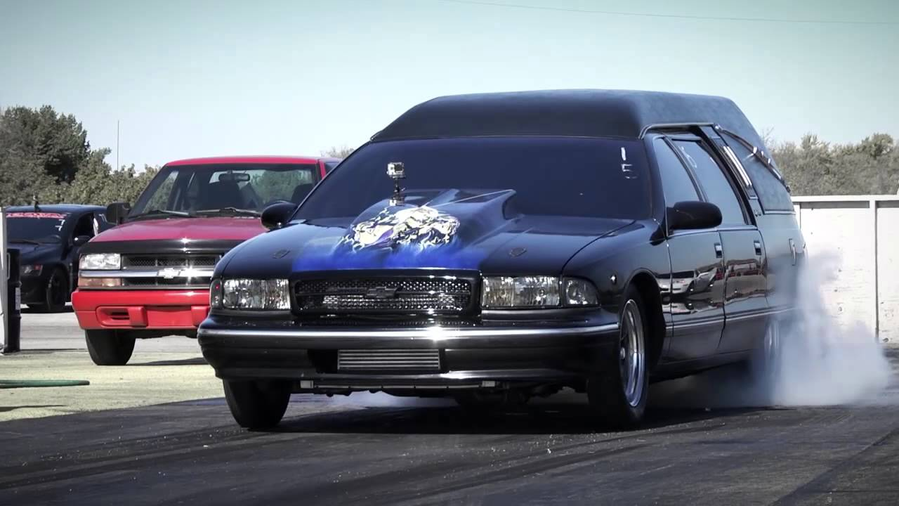 Hearse World Record 9 Second 1 4 Mile Youtube