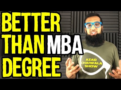 Better than MBA Degree - Start a Small Business | Azad Chaiwala Show