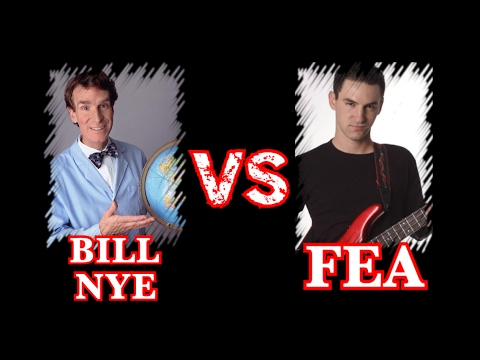 Bill Nye vs Flat Earth Asshole