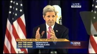 John Kerry - Iran Nuclear Deal Sept 2 2015