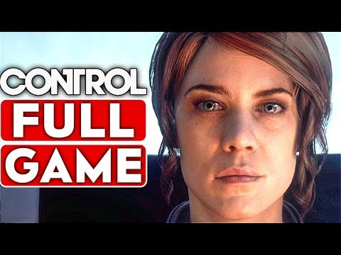 CONTROL Gameplay Walkthrough Part 1 FULL GAME [1080p HD 60FPS PC] - No Commentary