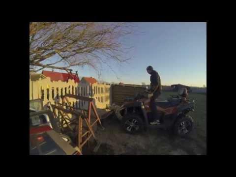CF moto x8 + Tur, Dump Bucket Force , Ground Force ATV