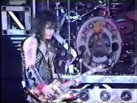 Motley Crue- 10 Secs To Love- (Live 1987) w/ Nikki Sixx ...