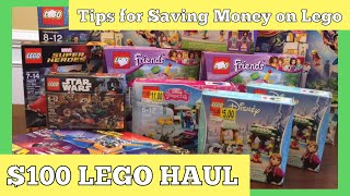 $100 LEGO HAUL | Never Pay Full Price for Lego | Learn Shopping Tips on How to Find the Best Prices!