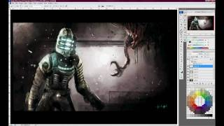 Speed Painting - Dead Space, Necromorphs, and Wii