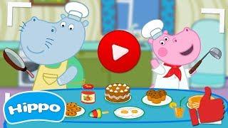 Гиппо 🌼 Шеф повар: Ютуб блогер 🌼 Мультики Промо-ролики трейлеры с Гиппо