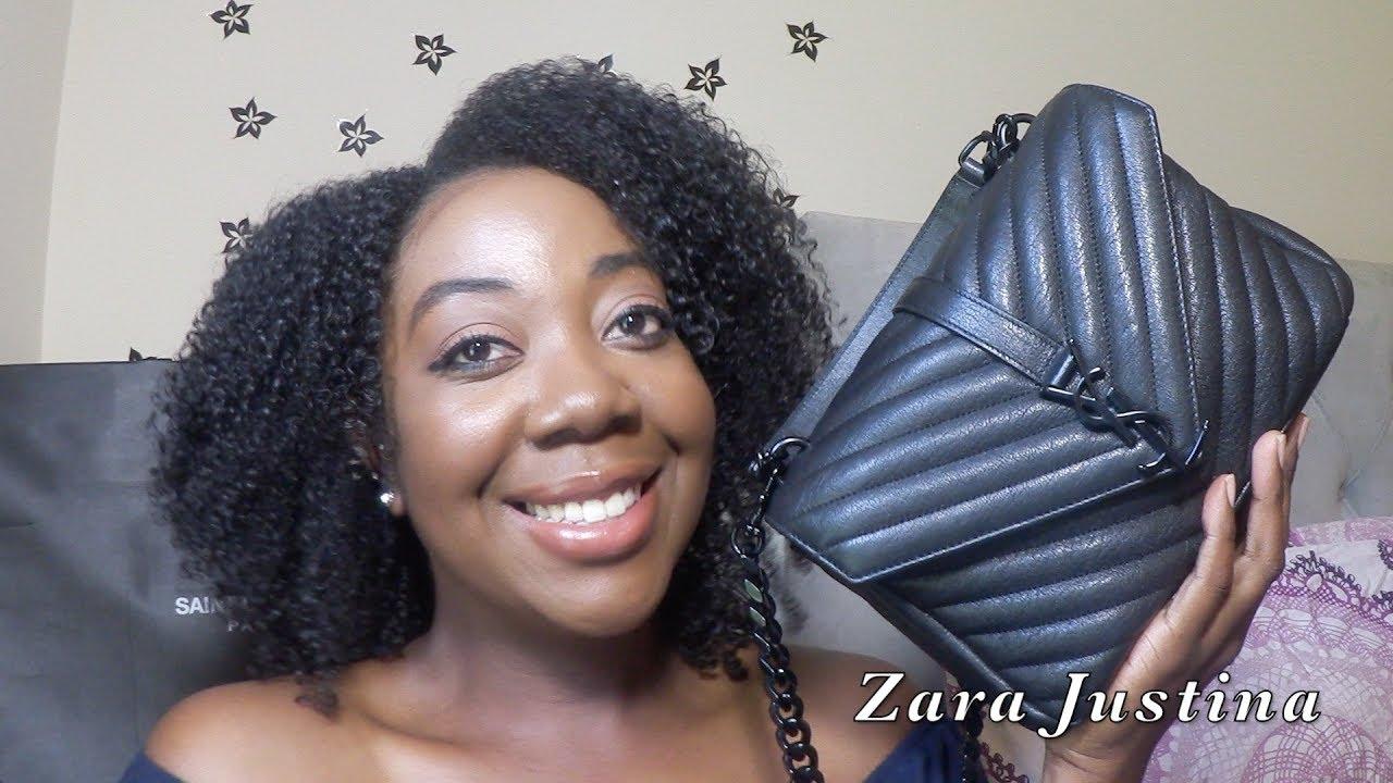 8b237b130c80 YSL Saint Laurent College Bag Reveal   Balenciaga Giveaway - YouTube