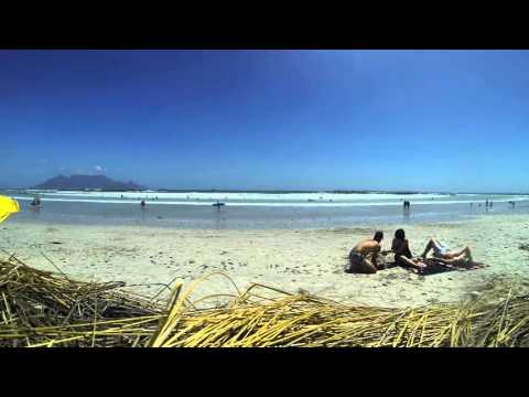 Time-lapse Bloubergstrand, Cape town
