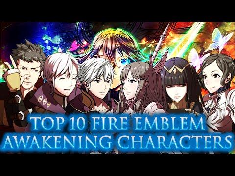 CRASHX500's Top 10 Fire Emblem Awakening Characters