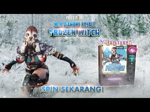 New Diamond Royale Frozen Witch - Garena Free Fire
