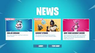 FORTNITE NEW UPDATE CHILLER GRENADE COMING SOON & SUMMIT STRIKER STARTER PACK LEAVING SOON