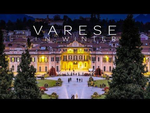 Hyperlapse Varese - Varese In Winter