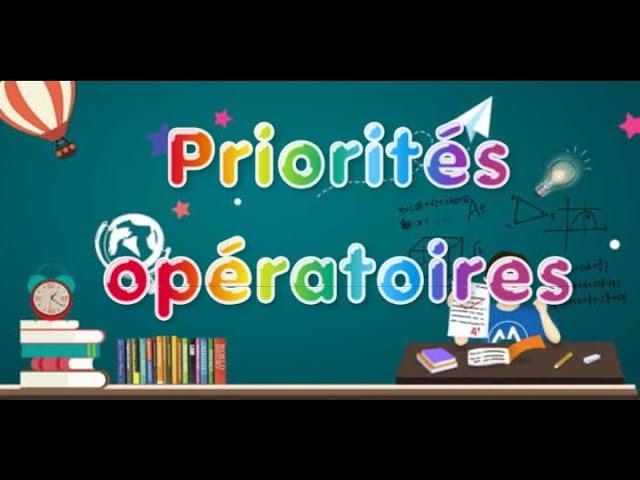 Priorités opératoires : cours et exercices corrigés - Maths 5ème.