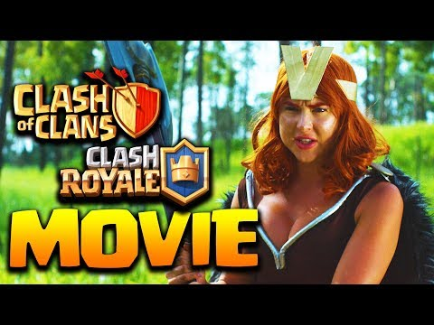 KNIGHT Vs VALKYRIE - EPIC CLASH BATTLES - CLASH OF CLANS, CLASH ROYALE MOVIE HD 2018