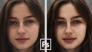 Просто и легко ретушируем в Adobe Photoshop CC || Уроки Виталия Менчуковского