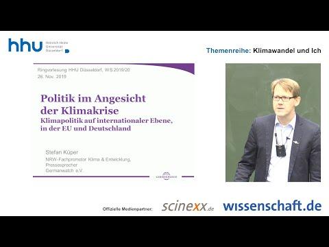 """HHU-Vorlesung """"Klimawandel und Ich"""", Teil 07: Politik im Angesicht der Klimakrise"""