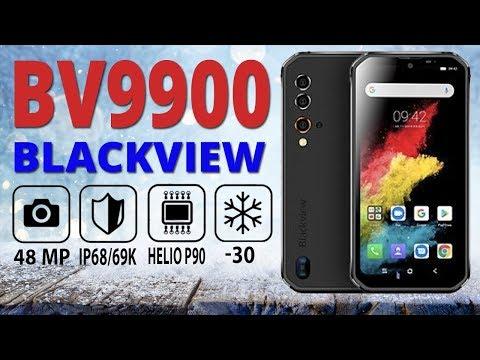 Самый защищенный смартфон Blackview BV9900