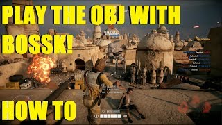 Star Wars Battlefront 2 - How to push the objective with Bossk! | How to get kills and PTFO!