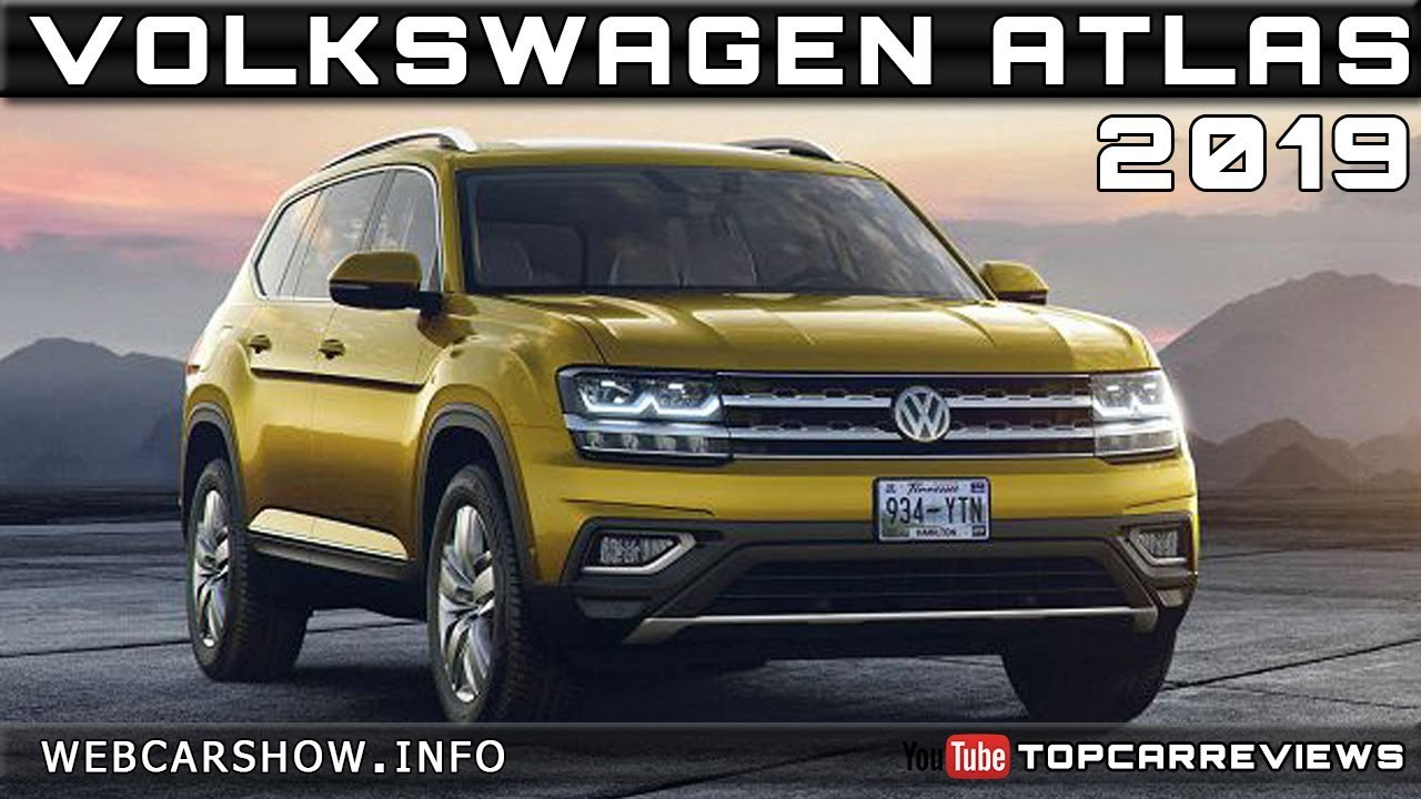 2019 Volkswagen Atlas Review Rendered Price Specs Release Date Youtube