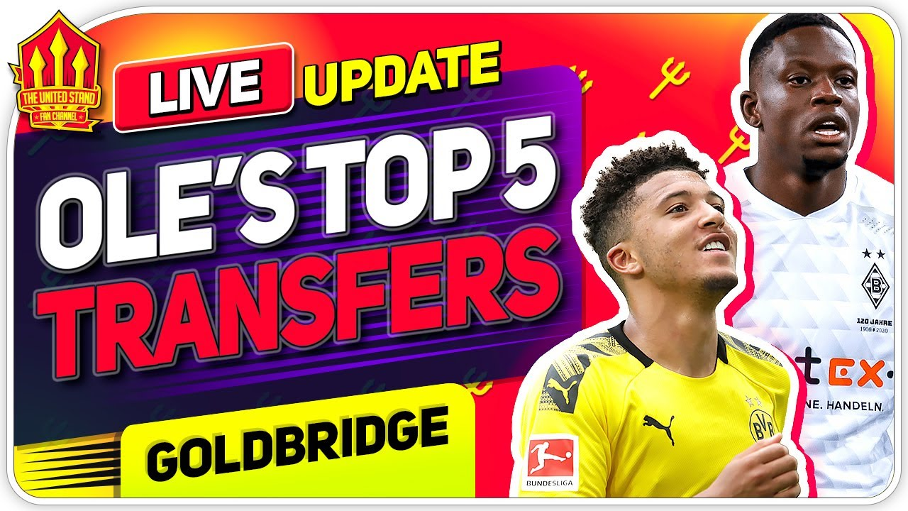 5 TRANSFERS Man Utd MUST Make To Win The Title!