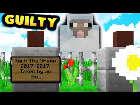 COURT CASE FOR KEITH THE SHEEP!   Minecraft Modded Factions #5