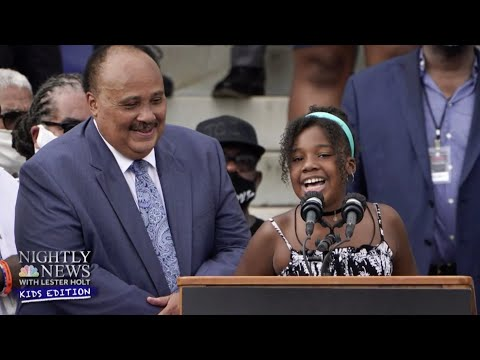 Dr. Martin Luther King Jr.'s Granddaughter Shares An Inspiring Message | Nightly News: Kids Edition