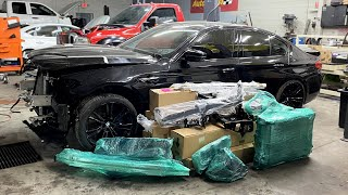 $10,000 worth of BMW M5 F90 Parts Have Arrived - Episode 3