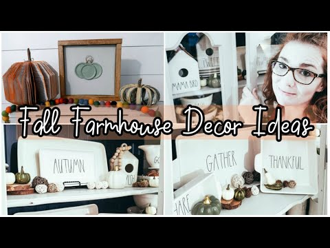 Fall Farmhouse Decor Ideas 2019 | Dollar Tree DIY
