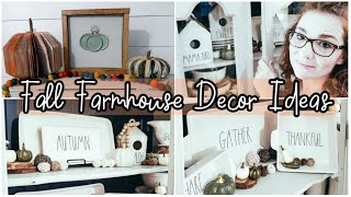 Fall Farmhouse Decor Ideas 2019 | Dollar Tree DIY