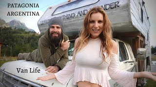 Van Life in PATAGONIA - Camino de los 7 Lagos Argentina with our truck camper