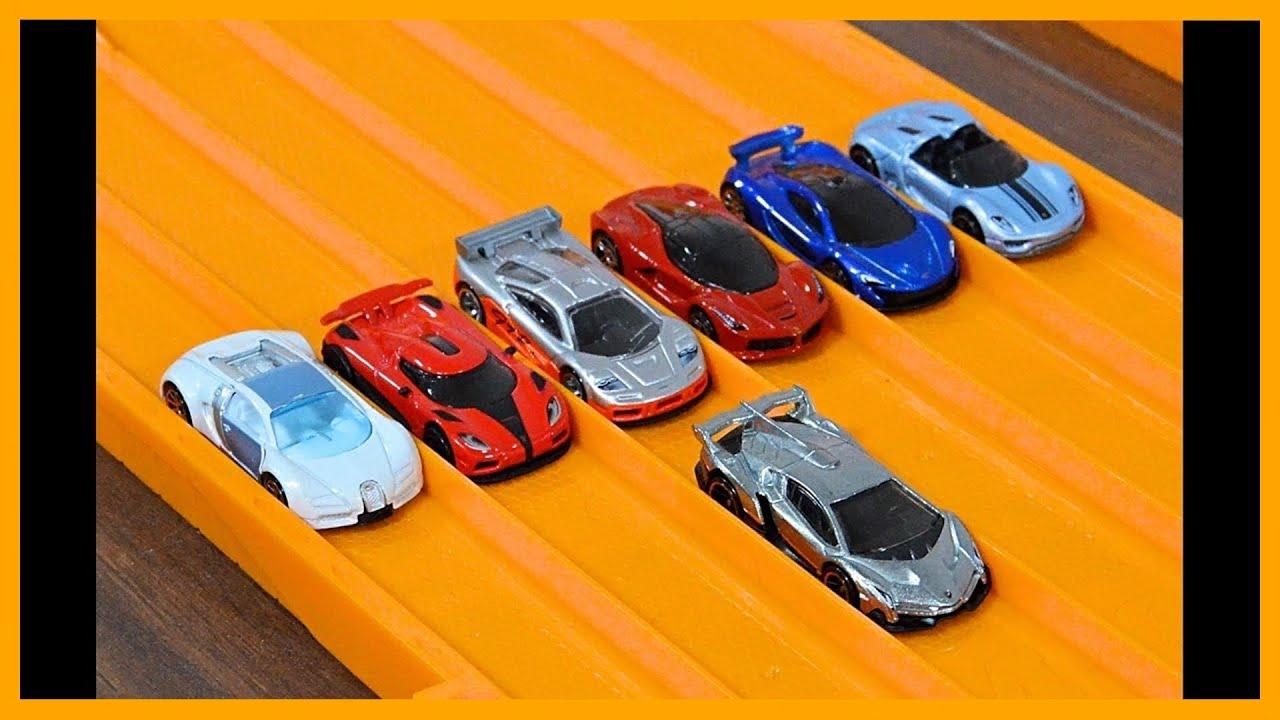 Lamborghini Veneno Vs 6 Hypercar Exotics Hot Wheels