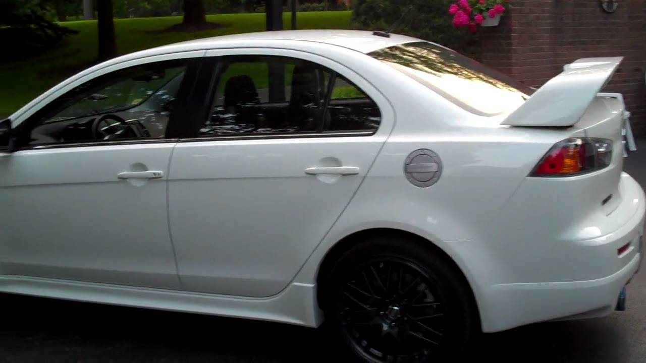 2010 lancer ralliart with some mods youtube