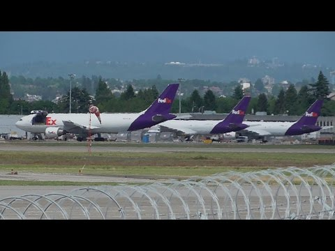 Aircraft Vancouver Airport 2nd  & 3rd June 2016