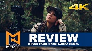 Zhiyun Crane - Handheld 3-axis Gimbal Review - 4k