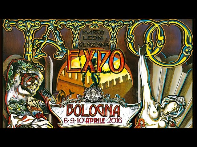TATTOO EXPO BOLOGNA 2016 - OFFICIAL VIDEO