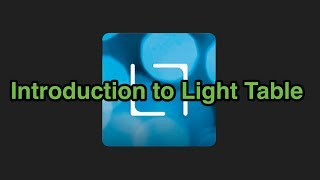 Introduction To Light Table