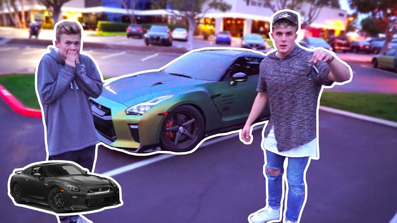 New Car Wrap Jake Paul