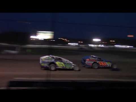 Ransomville Speedway Sportsman Feature Highlights 7-27-18