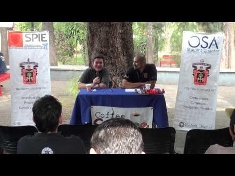 Dr. Javier González Contreras - Coffee Science MX - Capítulo OSA/SPIE UDG