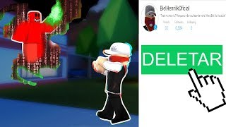 SI VOUS VOUS VOUS VOUS VOUS VOUS REZ EN ROBLOX HE WILL WANT TO DELETE VOTRE ACCOUNT